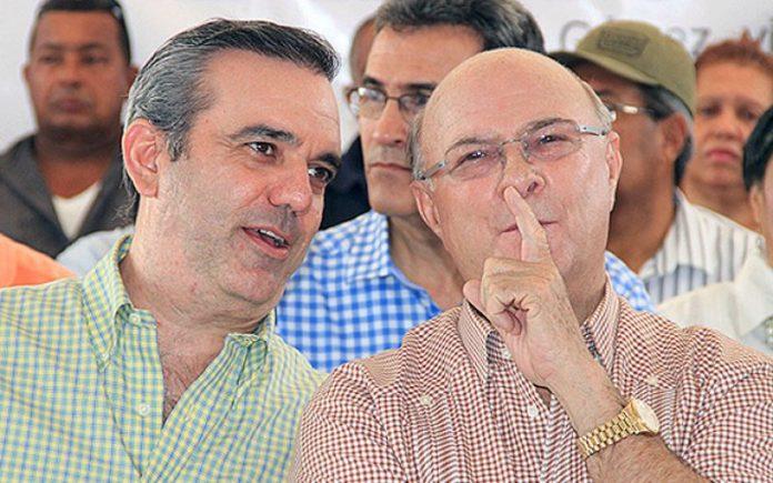 Luis Abinader e Hipólito Mejía afirman es casi imposible una nueva reelección de Danilo.
