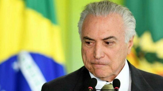 Arrestan al expresidente brasileño Michel Temer por un caso de corrupción