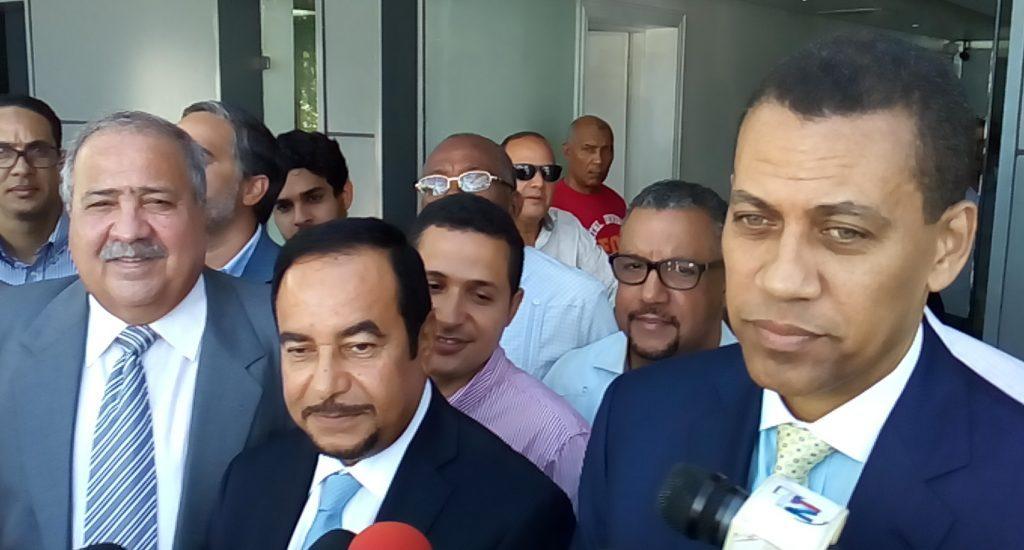 Autoridades #PRM se reúnen con  Corriente por el Rescate del Partido Revolucionario Dominicano (PRD)