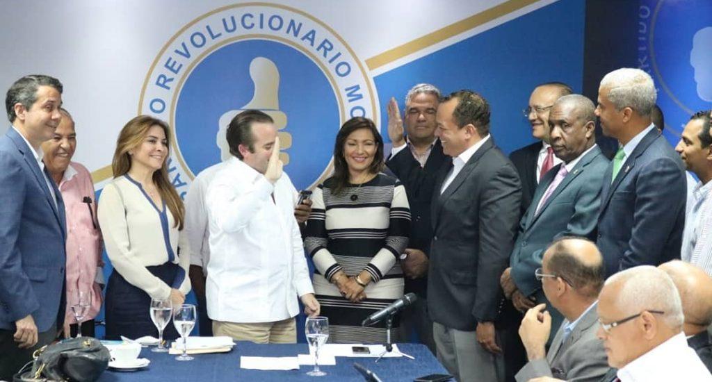 PRM juramenta presidente Mipyme del PRD y dirigente del PLD. A  Urbano Tupete y  Kennedy Fernández, secretario general del Distrito Nacional del PRD.