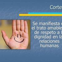 Valor: La cortesía. Palabras y acciones que dignifican las relaciones humanas