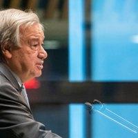 """@AntonioGuterres  secretario general de la ONU: """"El mundo está EN ALERTA ROJA"""""""