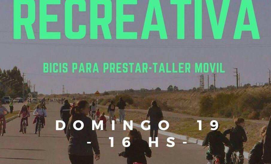 Vuelve la ciclovía a Puerto Madryn