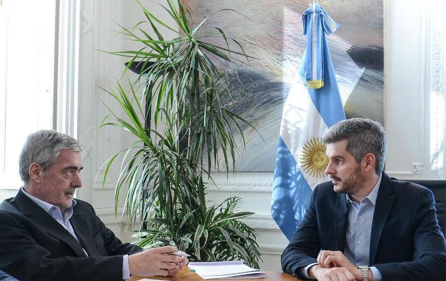 Das Neves se reunió con Frigerio y Peña y le confirmaron que este jueves comienza cronograma de licitaciones para obras en Comodoro