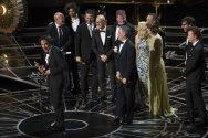 Alejandro G. Iñárritu recoge su Oscar a la Mejor Película