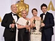 Simmons, Arquette, Moore y Redmayne, sendos ganadores de los premios en las categorías interpretativas