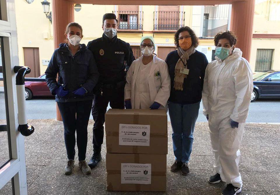 Mil euros para la lucha contra el coronavirus, la ejemplar donación de Los Informales de Alconchel 1