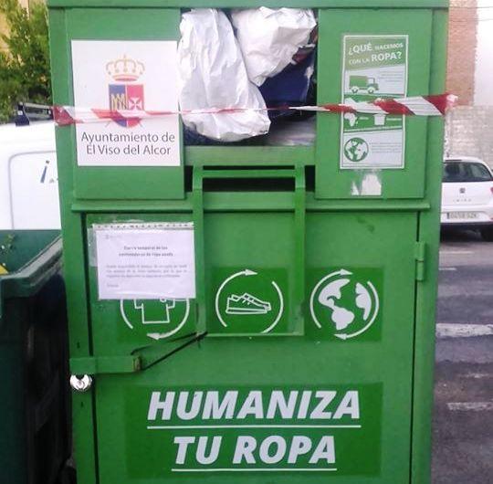 Fundación Humana reanuda la recogida de ropa usada en El Viso
