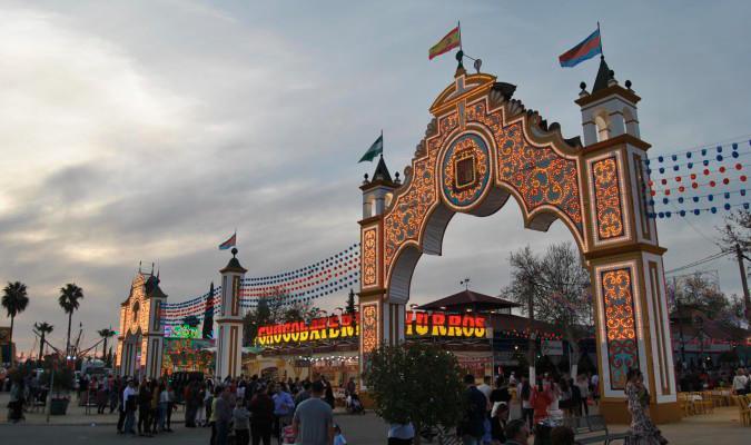 fiesta en honor de la Feria de Mairena