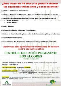 Centro de Educación Permanente Los Alcores