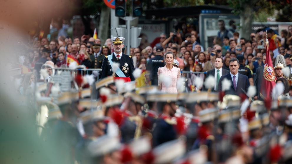 desfile militar suspendido