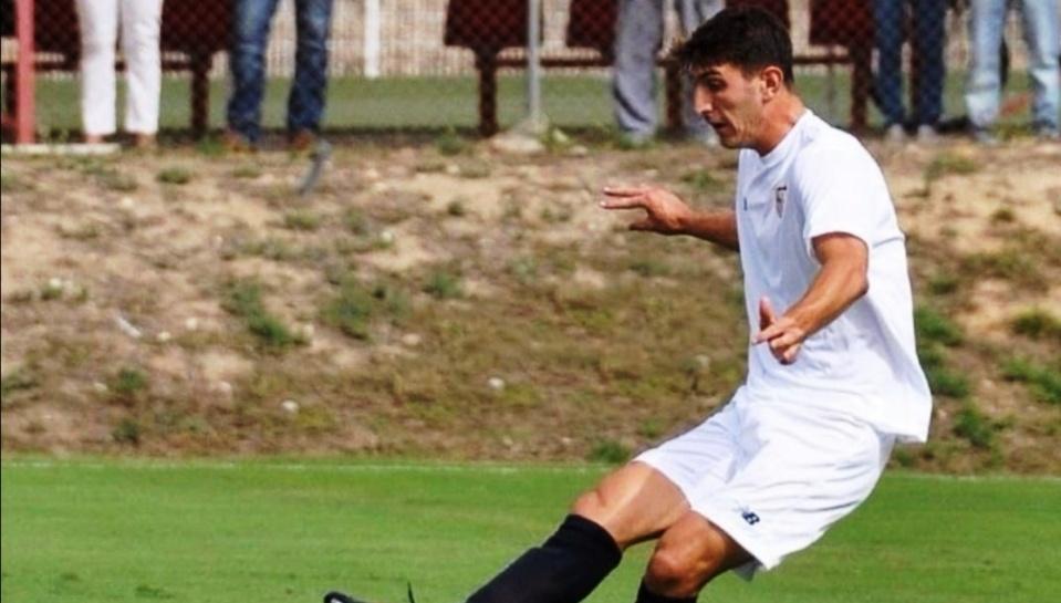 El alcalareño Eliseo Falcón regresa a la cantera del Sevilla FC