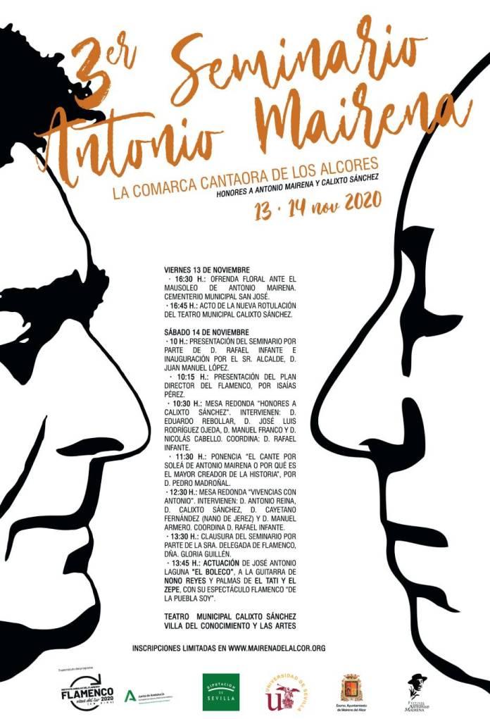 """El Ayuntamiento de Mairena del Alcor y la Universidad de Sevilla se unen para organizar el """"Seminario Antonio Mairena: La Comarca Cantaora de Los Alcores"""" 1"""