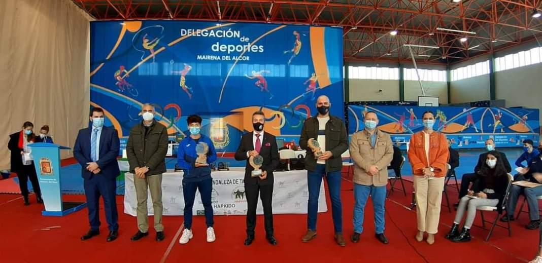 El TKD Mairena vuelve a ser el club más destacado de Andalucía