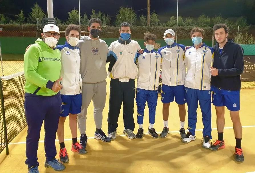 El Club de Tenis Oromana, subcampeón de Andalucía por equipos