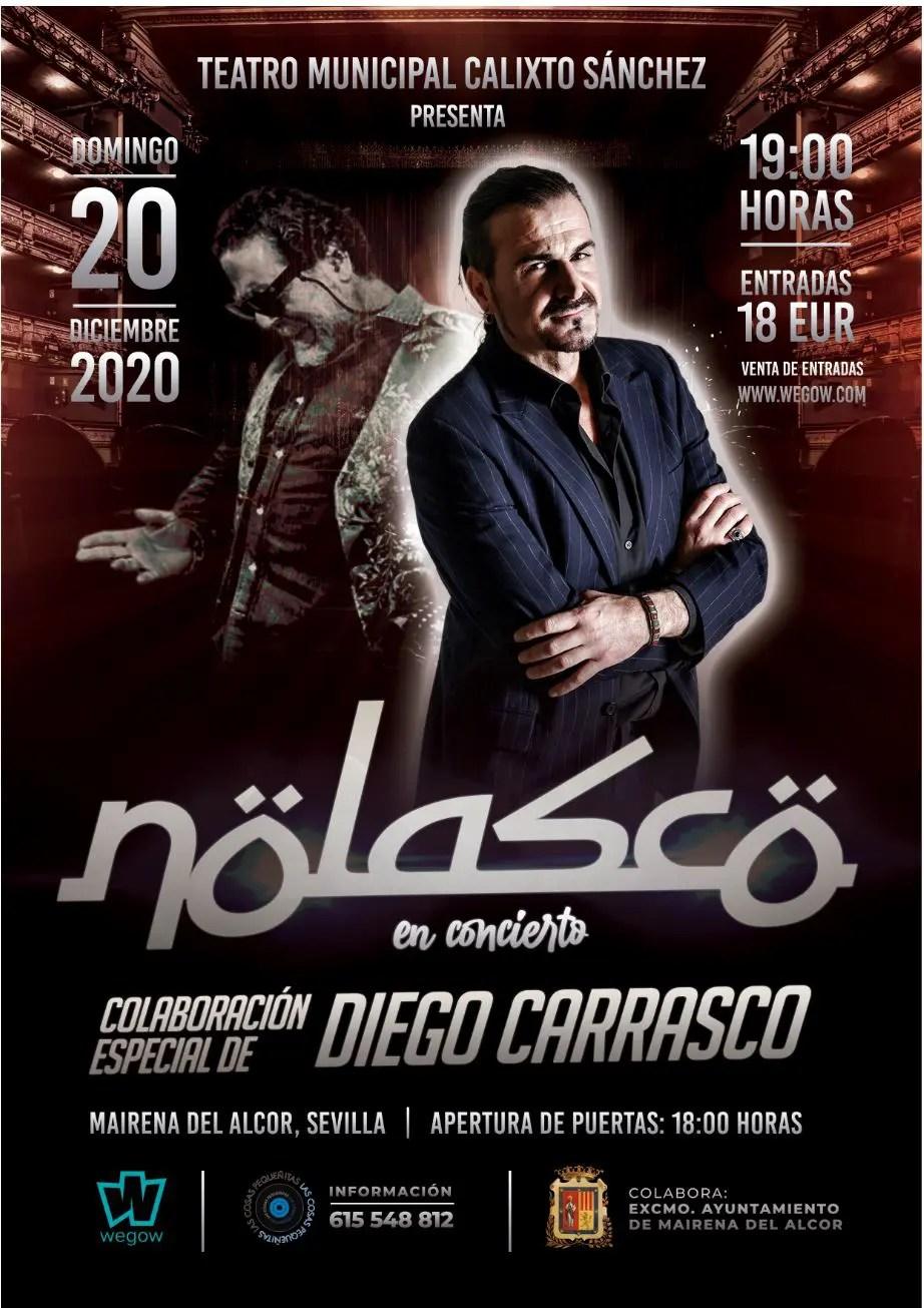 Nolasco y Diego Carrasco inauguran el 2021 con un concierto televisado 1