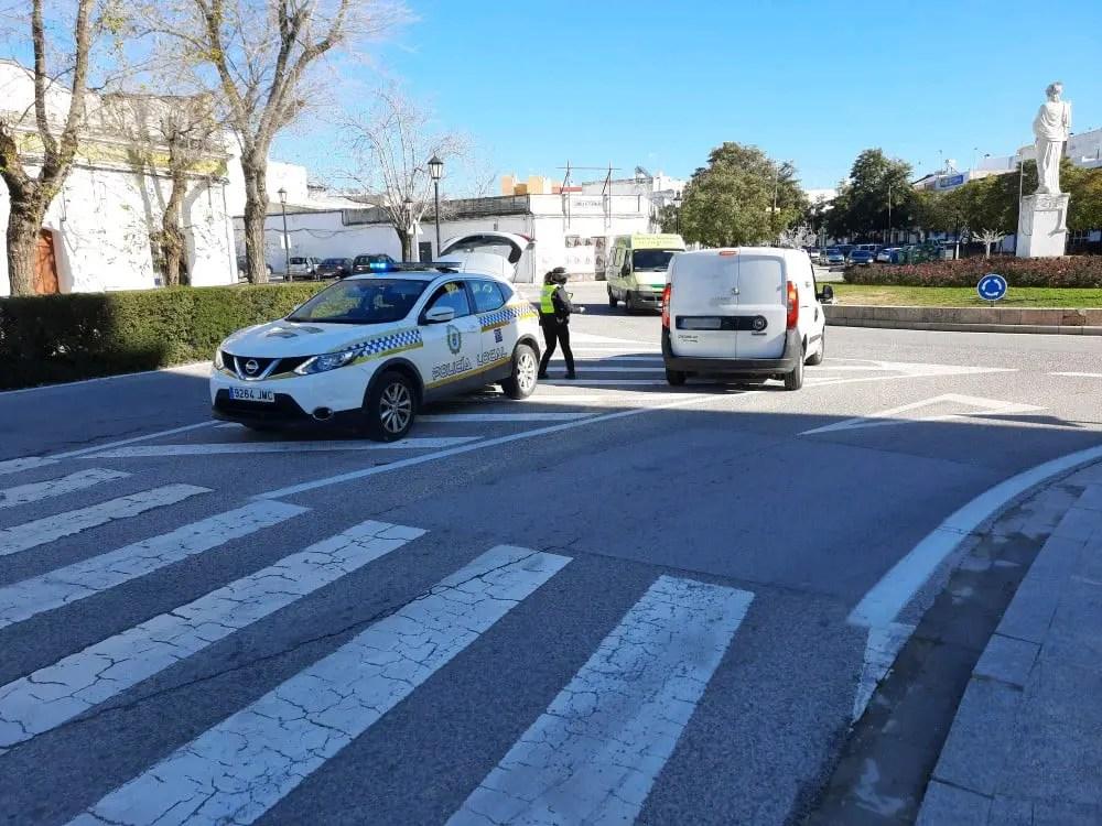 La Policía Local de Carmona controla 177 vehículos en una semana 1
