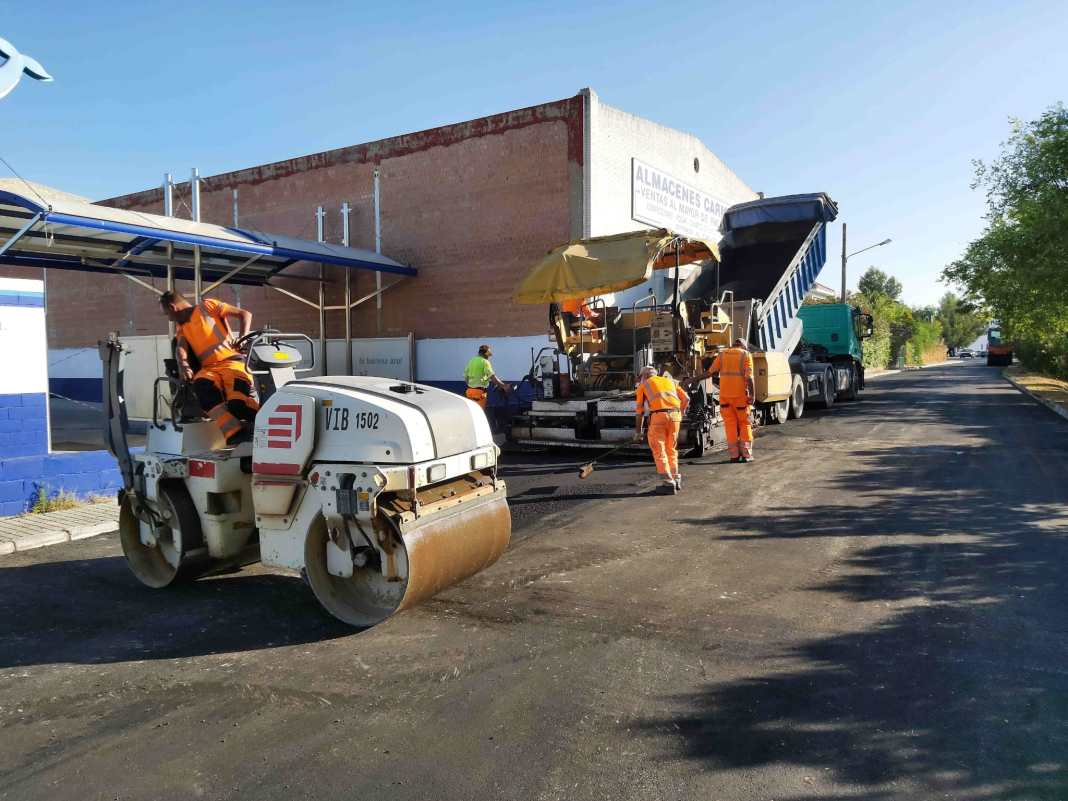 Carmona contará con un nuevo plan de asfaltado 1