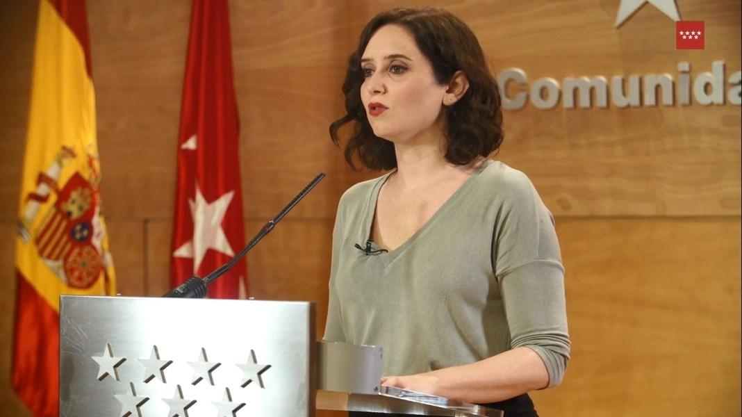 Isabel Díaz Ayuso disuelve la Asamblea de Madrid y convoca elecciones anticipadas 1