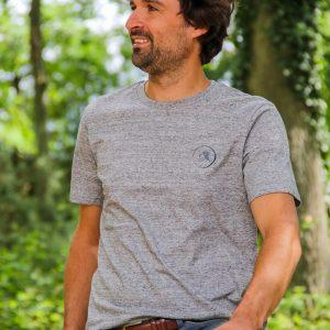 Tee-shirt Homme – Gris mélangé