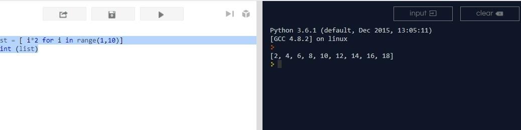 списки в Python