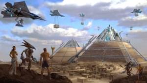 Python - построить пирамиду