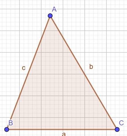 геометрия - остроугольный треугольник