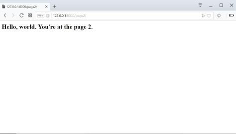 Django page 2
