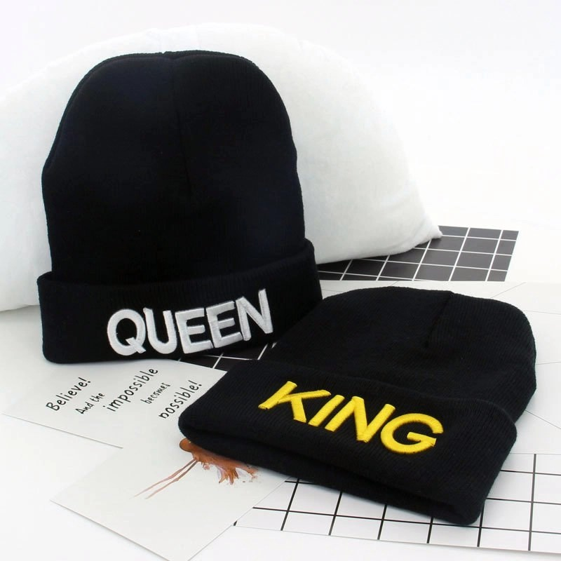queen and king beanies