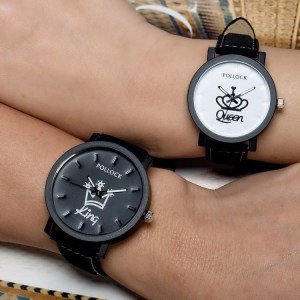 King Queen Couples Watches