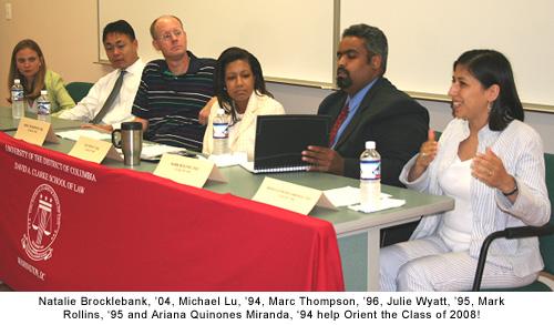 Alumni Orientation Panel