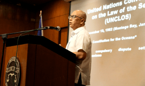 Ang Atin ay Atin: Message of independence asserted during Prof. Hilbay's talk on the West Philippine Sea
