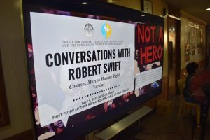 Conversations with Robert Swift