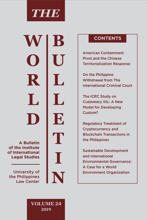World Bulletin Vol. 24 (2019)