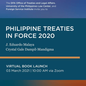 Philippine Treaties in Force 2020