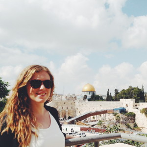 Hannah Follender is spending the summer working at a law firm right outside of Tel Aviv. During her first week on the job, the area experienced a terrorist attack.