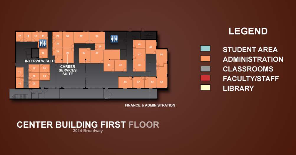 Center Building Floor Plans Room Index Tour The