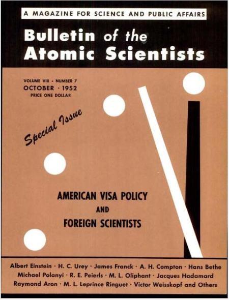 Einstein on U.S. Visa Policy