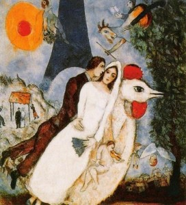 les-fiances-de-la-tour-eiffel-by-marc-chagall