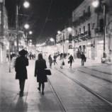 Jaffa Road at night