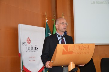 Professor Mark L. Movsesian addresses the conference