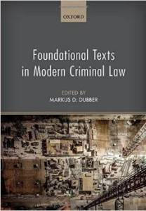 Foundational Texts in Modern Criminal Law