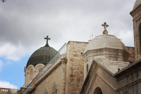 Church domes Old CIty