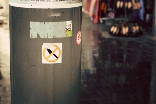 No knives