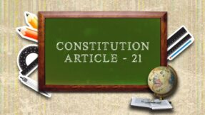 Article 21 of the Constitution of India