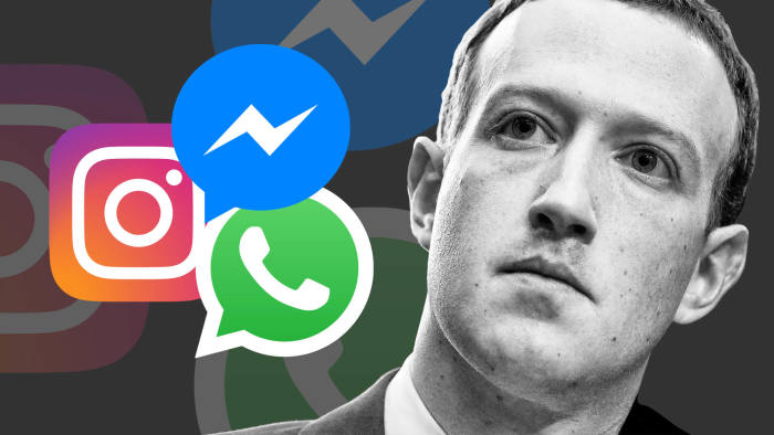 Mark - facebook, whatsapp and instagram