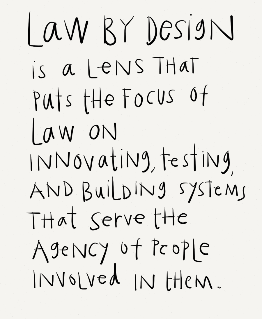 Law By Design a lens on the user