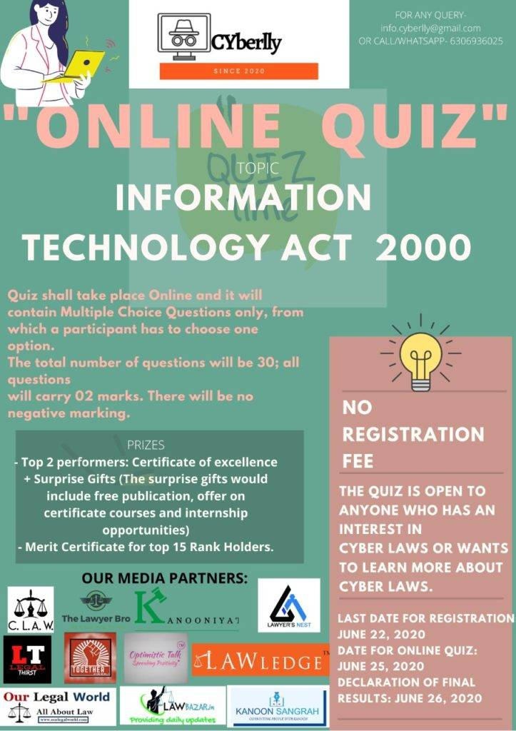 998966e6 55a0 4489 ab1b 231e5bd0cec2 ONLINE QUIZ ON IT ACT 2000 - REGISTER BY JUNE 22nd- NO REGISTRATION FEE