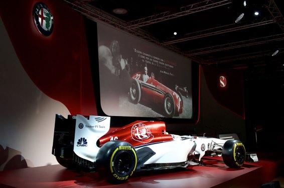 © Alfa Romeo Sauber F1 Team