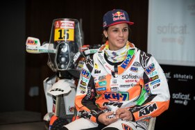 Presentación Laia Sanz Soficat Xerox Dakar 2018